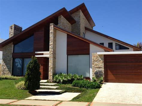 ideias de fachada de casa  revestimento de pedras