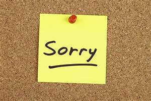 The Business Apology How To Say You39re Sorry Ramsey39s Rules