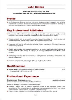 professional resume format australia  writing