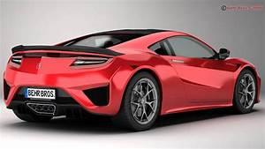 Acura NSX 2017 3D Model – Buy Acura NSX 2017 3D Model ...