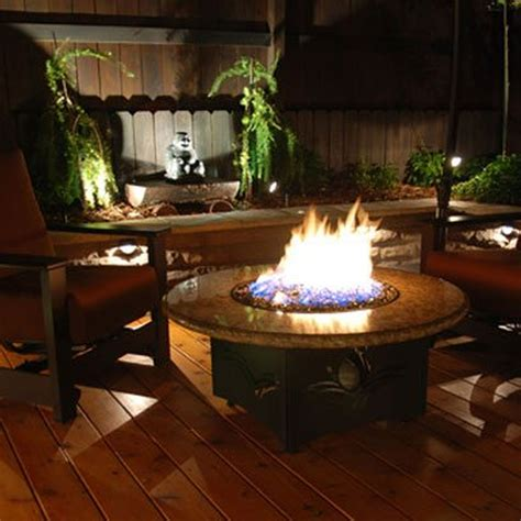 kinds  fire pit table