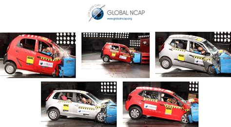 test crash siege auto global ncap crash tests of nano i10 figo alto