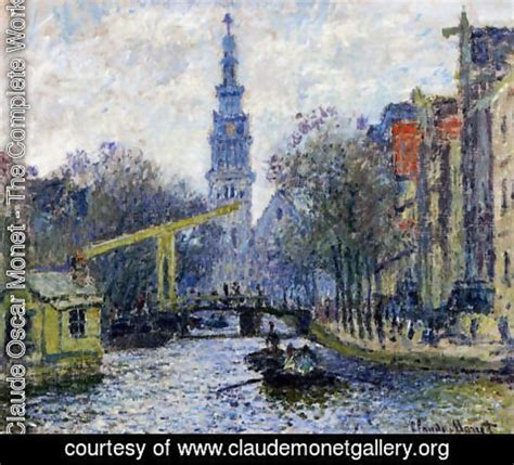 claude oscar monet  complete works canal