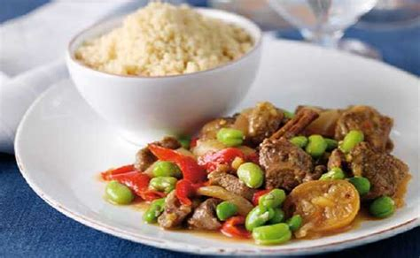 tajine de veau aux feves cuisine marocaine