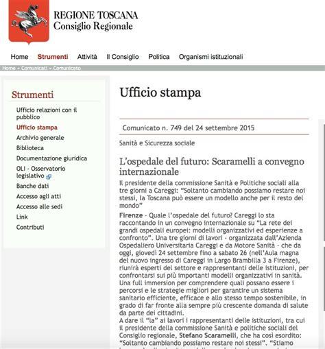 Ufficio Sta Regione Toscana La Rete Dei Grandi Ospedali Europei Regione Toscana 187 Www