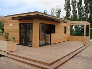 Lame Bois Pour Construction Chalet : lodge chalet en bois habitable livr mont tout quip quadrapol ~ Melissatoandfro.com Idées de Décoration