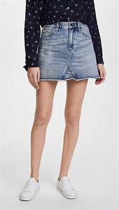 10 Must Have Denim Skirts For Spring 2018 | The Jeans Blog
