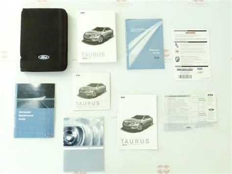 purchase  ford taurus owners owner manual  case