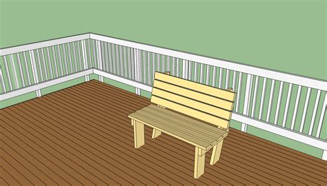 deck bench plans deck bench plans free howtospecialist how to build