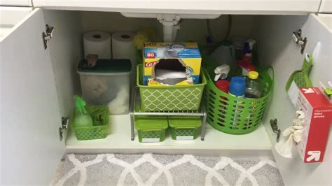 Dollar Tree   Under the Kitchen Sink Organization   YouTube