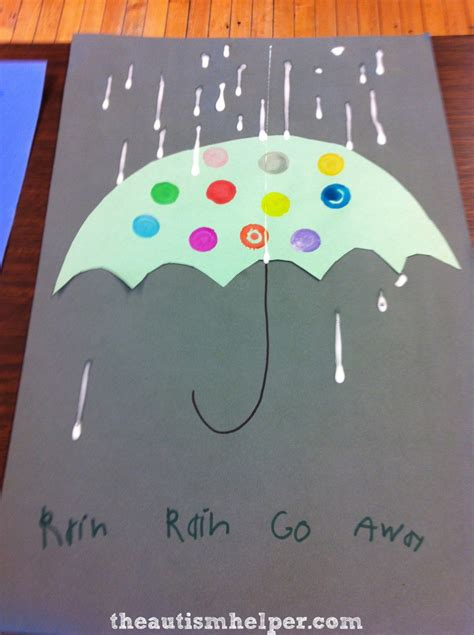 rainy day craft with a motor twist the autism helper 932 | IMG 3737 764x1024