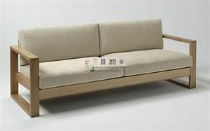 sofas modernos de madera inspiración de diseño de