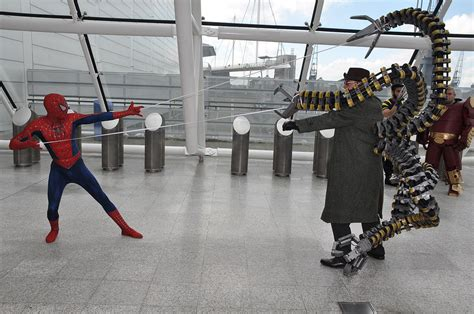 Spider Man 2 Doc Ock Fight Bing Images