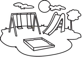 school playground clipart black and white playground clipart clipart best