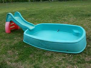 Big Splash Step 2 Pool with Slide