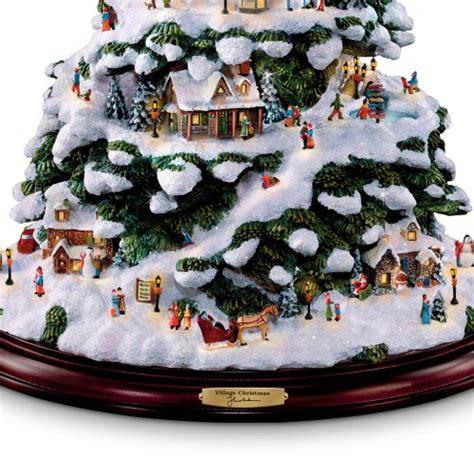 Thomas Kinkade Christmas Tree Village by Thomas Kinkade Christmas Trees Comfy Christmas