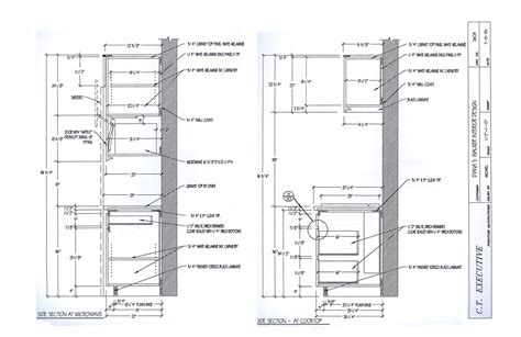 Which Is A Section Of A Cabinet Department - kitchen section detail autocad the of organization chart