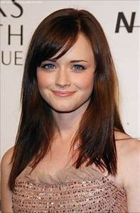 Side Bangs! I miss Rory Gilmore by the way... Alexis ...