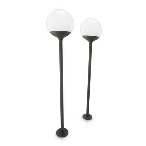 solar powered l post buy cheap solar garden post compare lighting prices for
