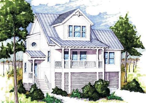 Elevated Piling and Stilt House Plans Coastal Home Plans