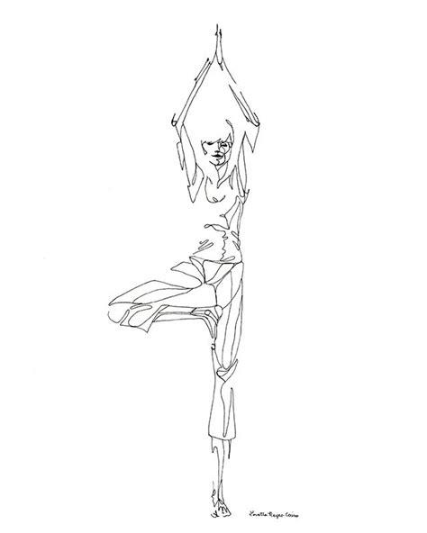 Yoga Meditation Pose Drawing Loading
