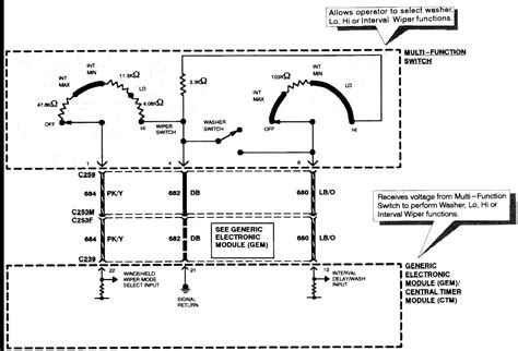 Afi Windshield Motor Wiring Diagram by Afi Wiper Motor Installation Impremedia Net