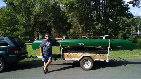 Canoes Trailers by 4 Place Kayak Canoe Utility Trailers For Sale Remackel
