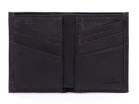 porte carte de bureau porte carte pour homme en cuir noir 8 cartes cuir pleine
