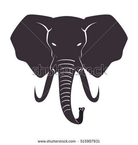 elephant silhouette front elephant silhouette profile