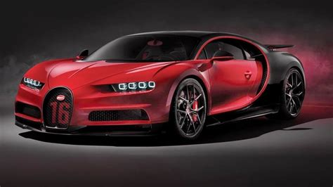 2019 Bugatti Chiron Sport Reveal Youtube