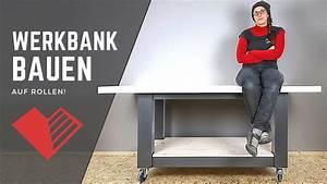 Werkbank Aus Holz : werkbank selber bauen aus holz werkstatt einrichten youtube ~ Watch28wear.com Haus und Dekorationen