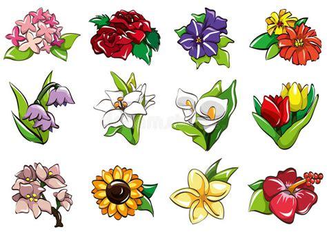Cartoon Flower Icon Stock Vector. Illustration Of
