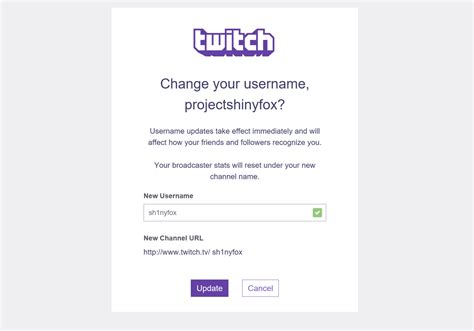 change  twitch username pepnewz