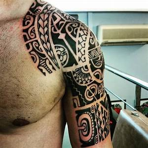 Maorie Tattoo Oberarm : 81 tribal maori tattoos for inspiration ~ Frokenaadalensverden.com Haus und Dekorationen