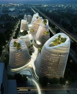 Chinese Architect Ma Yansong Brings Green Futurism To