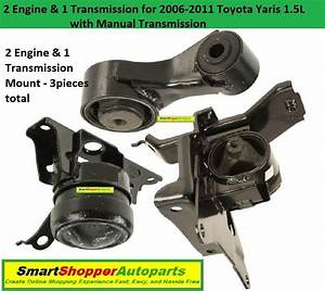 2 Engine And 1transmission Mount For 2006 2007 2008