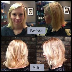 Haircuts And Color Before And After A Collection Of
