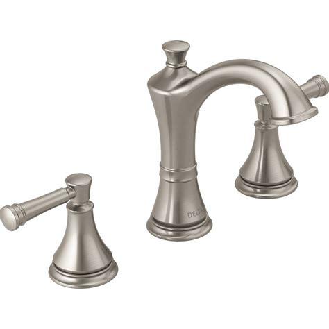 Delta Fixtures Bathroom by Delta Valdosta Spotshield Brushed Nickel 2 Handle
