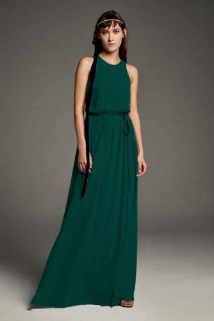 forest green bridesmaid dresses davids bridal