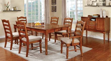 Country Dining Room Sets by Country Style Dining Room Set Oak Formal Dining Room Set