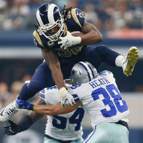 todd gurley ii stats news  highlights pictures
