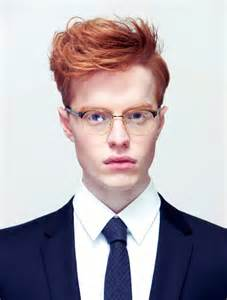 Men with Red Hair Glasses