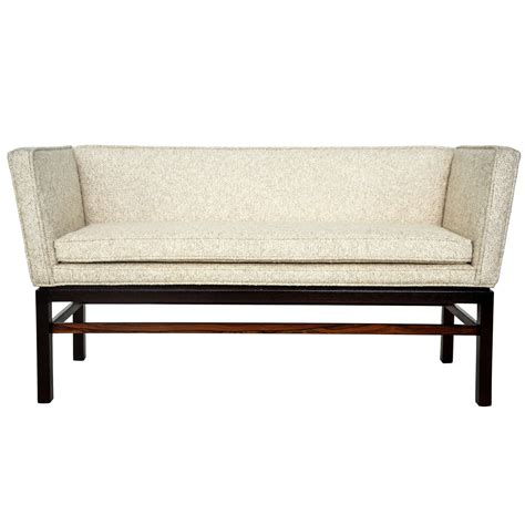 Modern Settee Bench by Dunbar Rosewood Settee Bench By Edward Wormley At 1stdibs