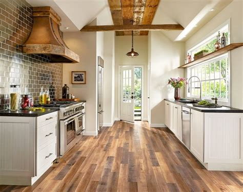 farmhouse kitchen floor ideas armstrong luxury floor covering kitchen farmhouse with 7152