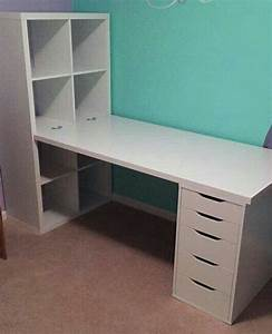 Ikea Kallax Diy : image result for ikea kallax office hack home sweet home pinterest office hacks ~ Orissabook.com Haus und Dekorationen