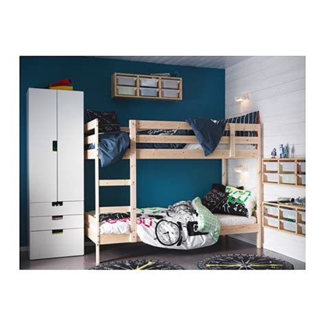 Mydal Bunk Bed by Mydal Bunk Bed Frame Pine 90x200 Cm Ikea