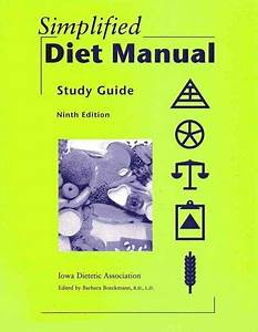 Study Guide To The Simplified Diet Manual By Judy