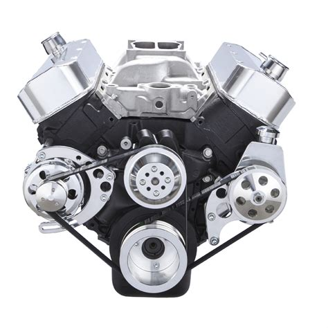 427 Deck Vs 454 by Chevy Big Block Serpentine Conversion Kit For