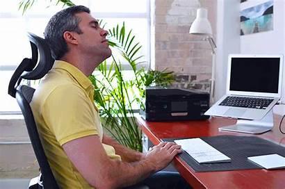 Neck Office Rolls Desk Exercises Stretch Shoulder