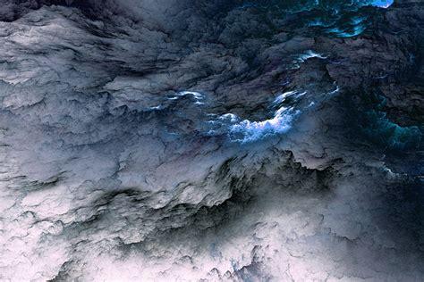 White And Blue Clouds 5k Retina Ultra Hd Wallpaper